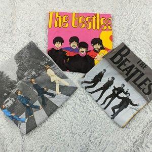 Set of 3 Beatles Shirts